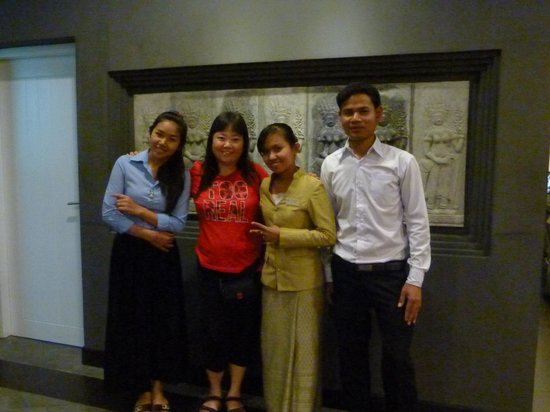 King Grand Boutique Hotel: The friendly stafs