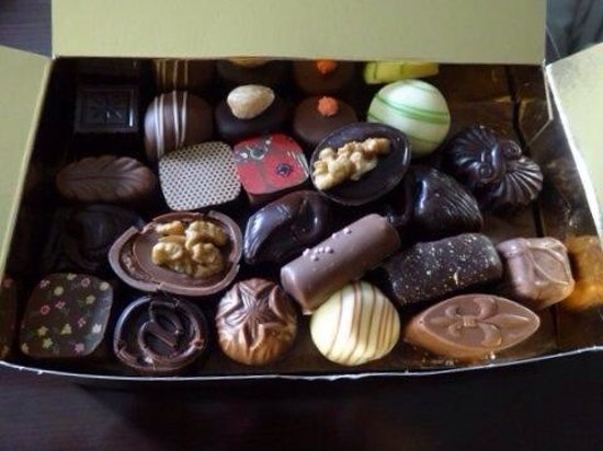 Chocolaterie Sukerbuyc: 42個入り、500g