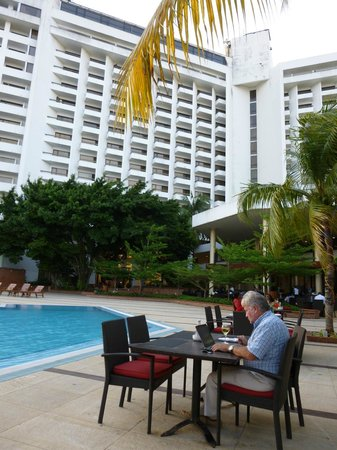 Eko Hotels & Suites: The hotel from the pool