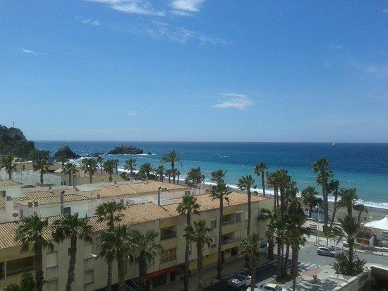 Almunecar Playa Spa Hotel: Vista desde la habitación
