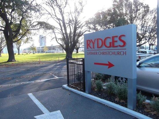 Rydges Latimer Christchurch Hotel: Visage