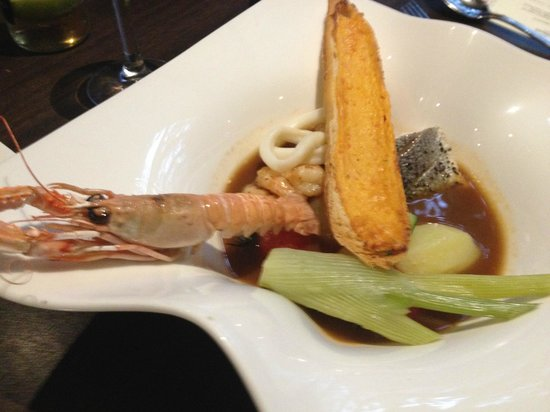 Hilton Dublin: Seafood Bisque: Just has to be tried to be believed.