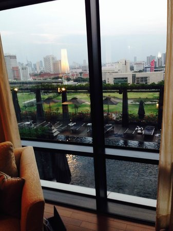 The St. Regis Bangkok: View out the window