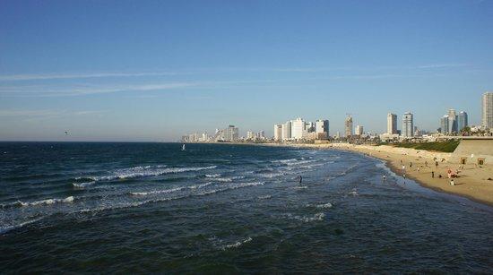 Beachfront Hostel: wonderful beach