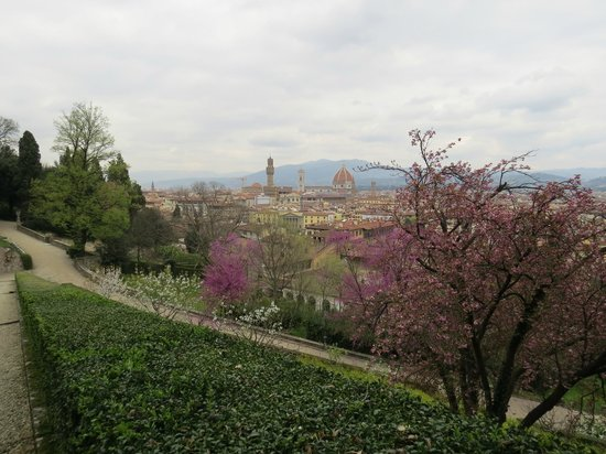 Lovely Garden With Lovely Views Picture Of Giardino Bardini