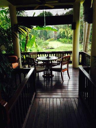 Four Seasons Resort Chiang Mai: Patio area for room