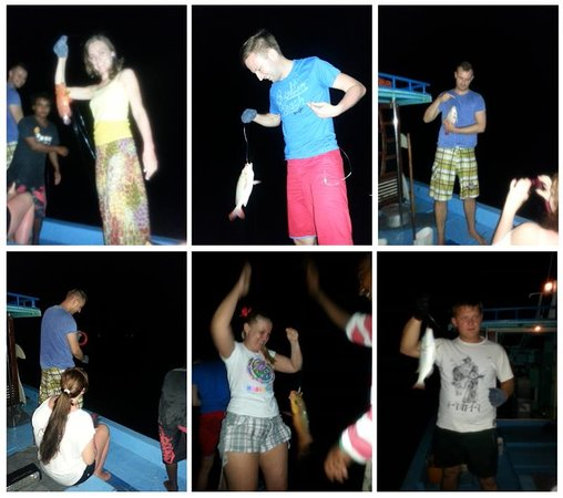 Dacha Maldives: Night Fishing