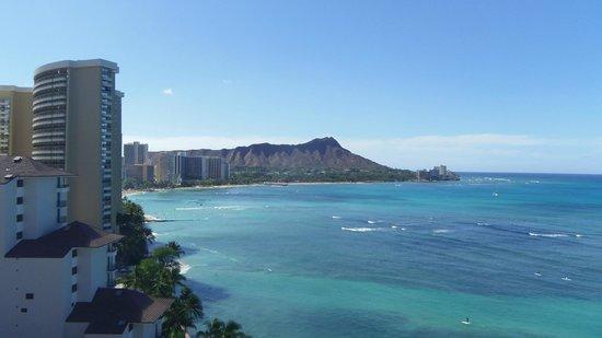 Waikiki Shore: ワイキキショア最上階からの眺め