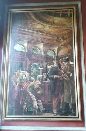 Premier Inn Birmingham City Centre (Waterloo Street) Hotel: Painting in the Old Joint Stock Pub