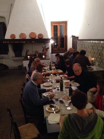 Masseria Astapiana Villa Giusso: Samen eten