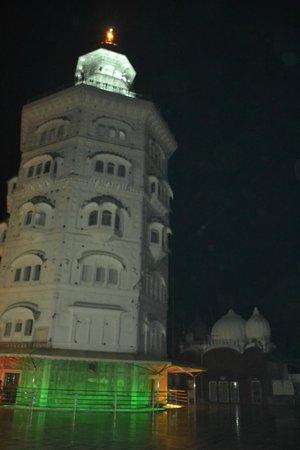 Gurudwara Baba Atal Rai: the tall building