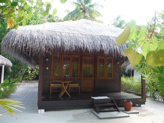 Filitheyo Island Resort : notre bungalow seul a partir du n°7
