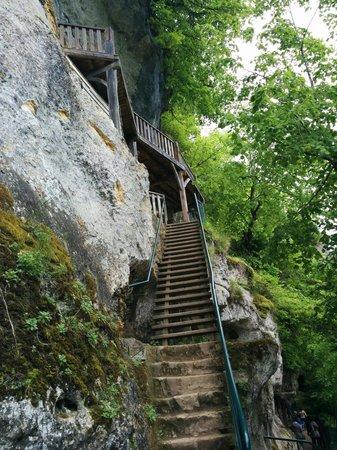 Roque Saint-Christophe Fort et Cite Troglodytiques: La roque saint Christophe