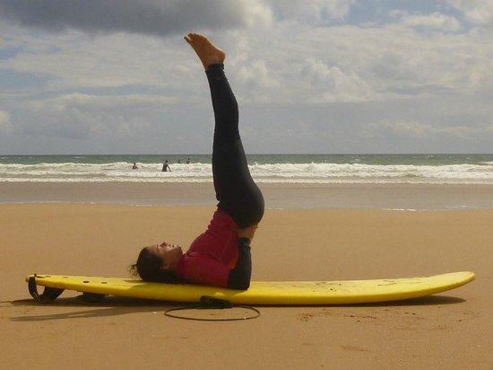 Yogaion: yoga na praia :)