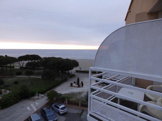 Grand  Hôtel  du Lido : dal balcone