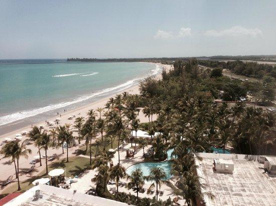 Courtyard Isla Verde Beach Resort: View from 10th floor