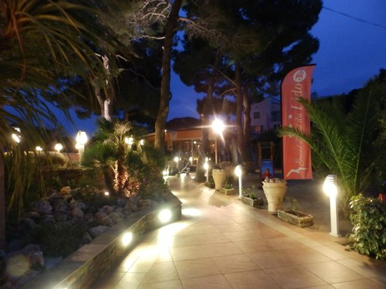 Grand Hotel Du Lido : Ingresso