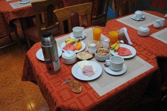 Eureka San Blas: desayuno
