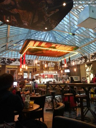 St Christopher's Gare du Nord Paris : Breakfast