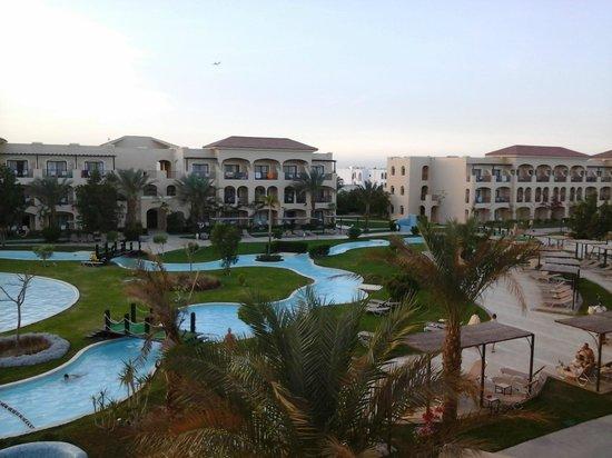 Jaz Bluemarine : La vue depuis notre balcon