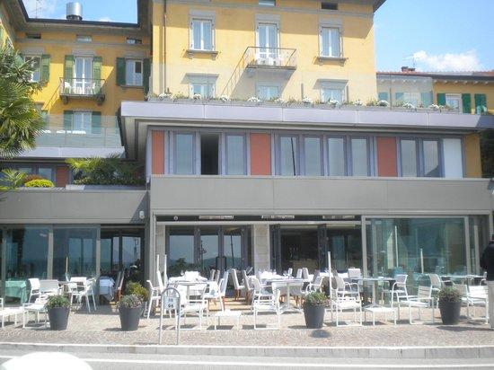 Hotel Lago di Garda: prospetto frontale albergo