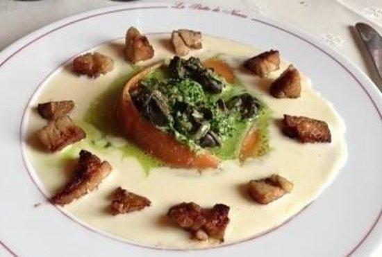 Restaurant La Botte de Nevers: Ris de veau et escargot