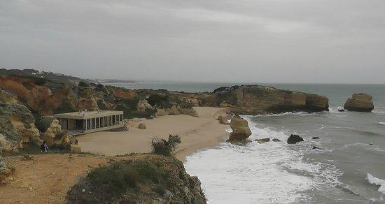 Sao Rafael Atlantico: heerlijk strand, met prachtige rotsen
