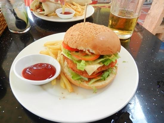 King of Sandwiches: Piri Piri Chicken Burger