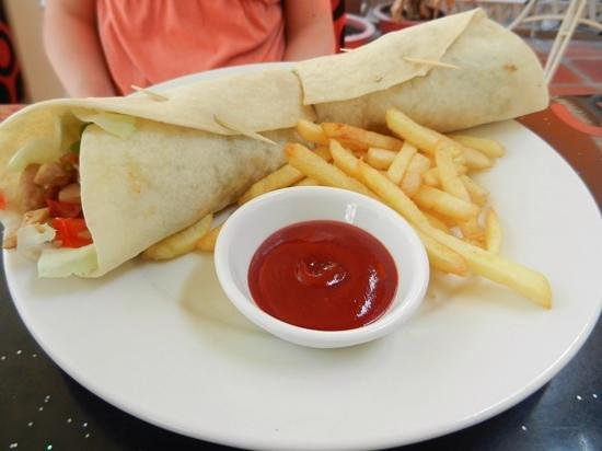 King of Sandwiches : Chicken Tortilla (Wrap)