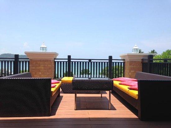 Pullman Phuket Panwa Beach Resort: vue de l'accueil de l'hotel