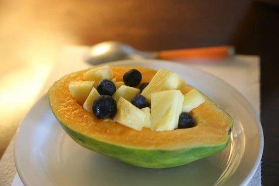 Kula View: Fantastique petit déjeuner, différent chaque matin