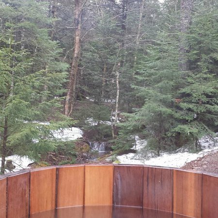 Ridgeback Lodge: View from our hot tub