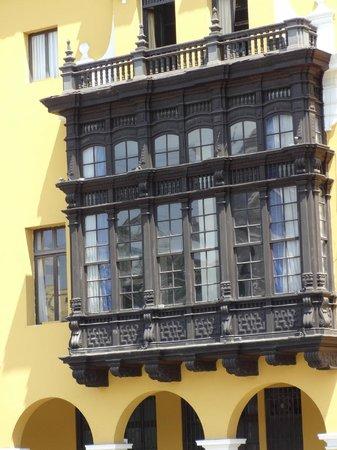 Centro histórico de Lima: Balcones