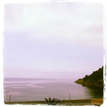 Hotel delle Rose : This is the view from the terrace...
