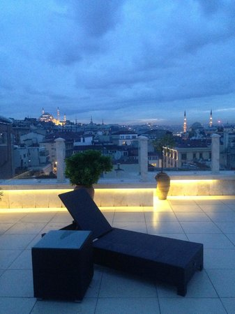 Neorion Hotel: Serenity on the roof terrace