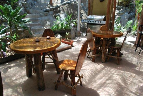 Condotel Las Cascadas: espace déjeuners