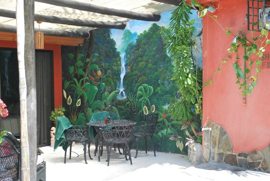 Condotel Las Cascadas: murale