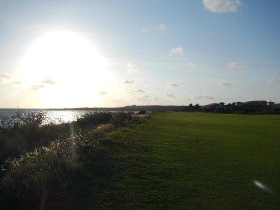 Santa Barbara Beach & Golf Resort, Curacao : Golf course