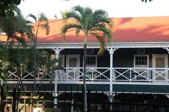 Best Western Pioneer Inn: Les balcons