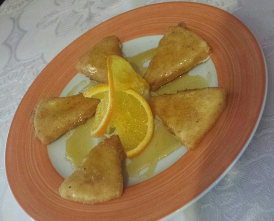 El Mastil Restaurante : Tipical from lanzarote.  Fried Fresh Cheese With Honey