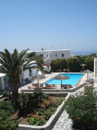 Aeolos Mykonos Hotel: Rustig, netjes en winderig zoals heel Mykonos