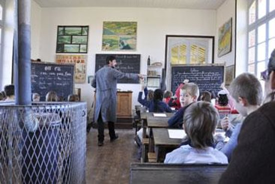 St Nicolas du Pelem, France: Salle de classe école Bothoa
