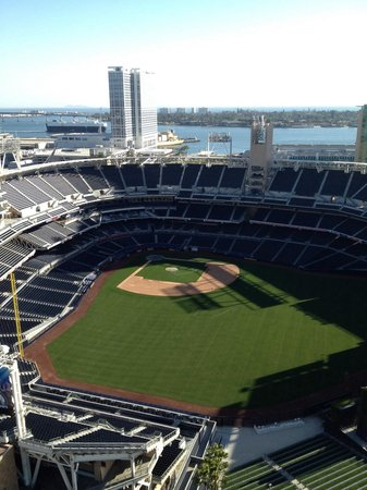 Petco Park : From the DiamondTowers.