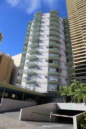 Aston Waikiki Circle Hotel: Immeuble tout rond