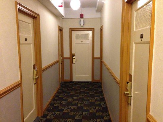 Hotel Carter : Corredor