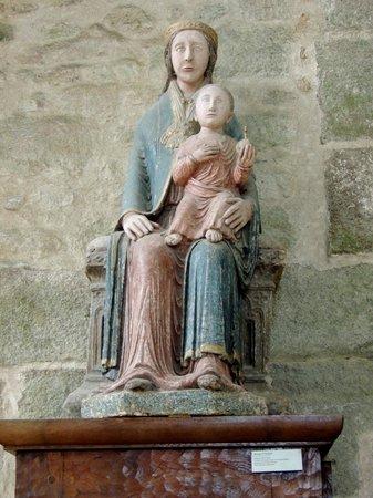 Abbaye du Mont-Saint-Michel : La Vierge et l'Enfant