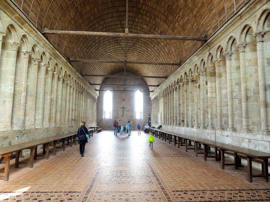 Abbaye du Mont-Saint-Michel : Le réfectoire