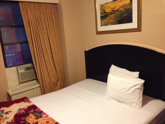 Hotel Carter : Visão do quarto