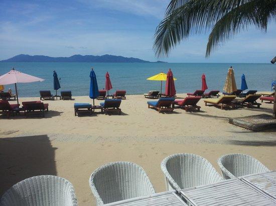 Hacienda Beach Resort : La plage