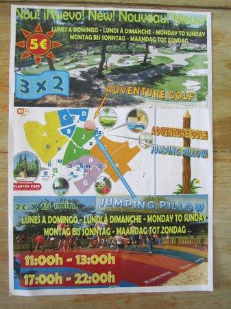Vilanova Park: prix des activités payantes